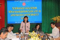 Thứ trưởng Ngô Thị Minh kiểm tra công tác chuẩn bị Hội khỏe Phù Đổng Khu vực IV