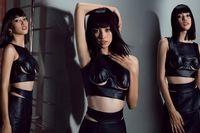 Hoa hậu Tiểu Vy đẹp mê hoặc với váy đen cắt xẻ phô chân ngực
