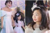 Lần hiếm hoi con gái Mai Phương đi dự sự kiện, bé cao lớn, xinh như thiên thần