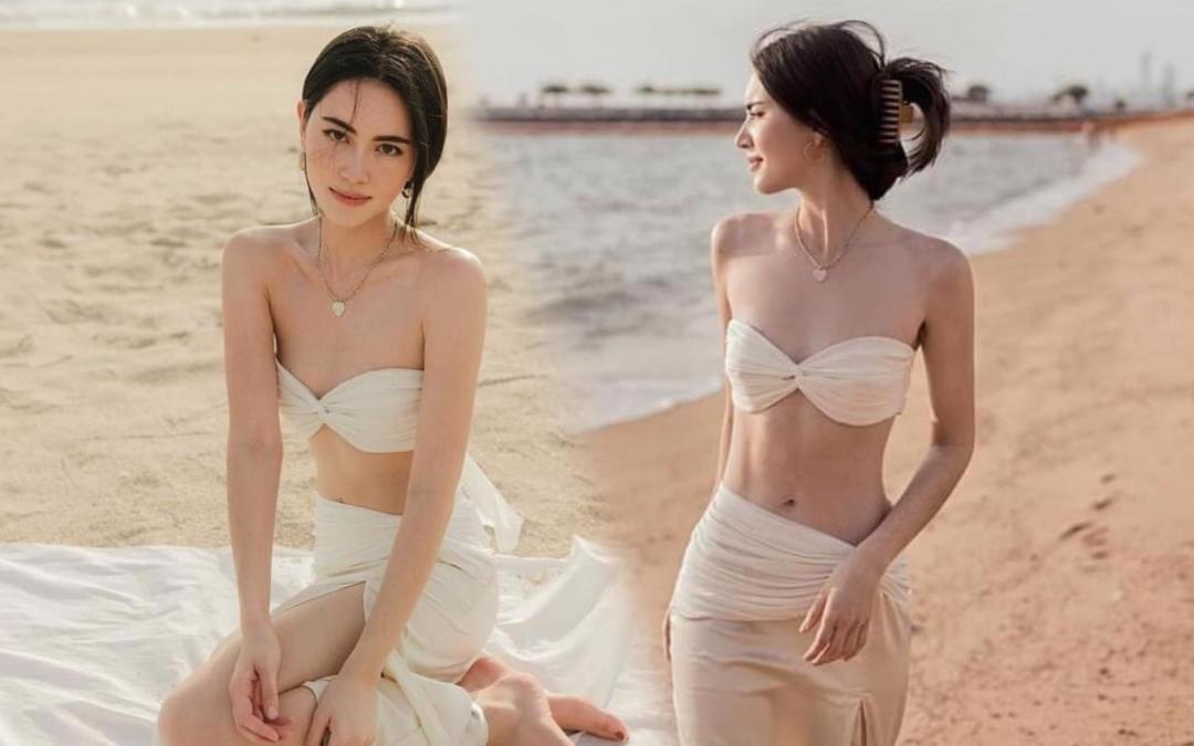 'Ma nữ' Mai Davika 'gầy đét' nhưng vẫn đẹp mê hồn trong loạt ảnh mặc bikini