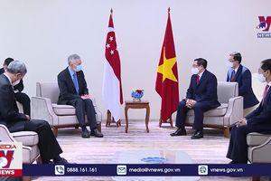 Thủ tướng Phạm Minh Chính: Việt Nam và Singapore cần đẩy nhanh đàm phán về Quy chế đi lại ưu tiên