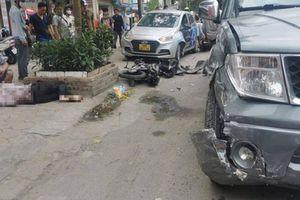 Đã xác định danh tính lái xe bán tải tông loạt ô tô, xe máy trên phố Hà Nội