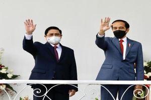 Thủ tướng hội đàm với Tổng thống Indonesia