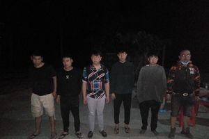 Liên tục bắt giữ người Trung Quốc xuất nhập cảnh trái phép ở Kiên Giang
