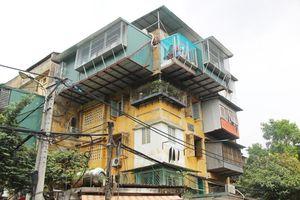 Hà Nội thành lập Ban Chỉ đạo cải tạo chung cư cũ