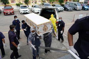 Thái Lan ghi nhận số người tử vong vì Covid-19 cao nhất từ trước tới nay