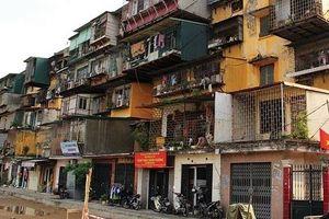 Hà Nội thành lập Ban Chỉ đạo cải tạo chung cư cũ trên địa bàn thành phố