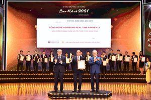 Sản phẩm CNTT của Agribank giành Giải thưởng Sao Khuê 2021