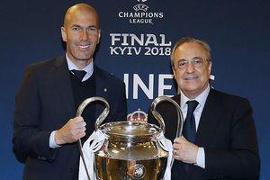 Zidane nói gì về việc Real có thể bị cấm đá Champions League?