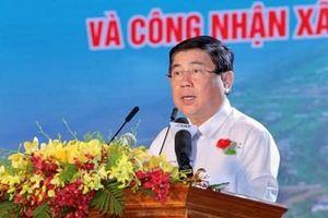Công bố quyết định của Thủ tướng công nhận huyện Cần Giờ đạt chuẩn nông thôn mới