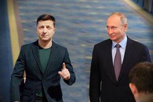Cuộc đàm phán lịch sử giữa Tổng thống Putin và người đồng cấp Ukraine