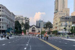 Dỡ rào chắn tuyến metro số 1, đường Lê Lợi thông thoáng khác lạ