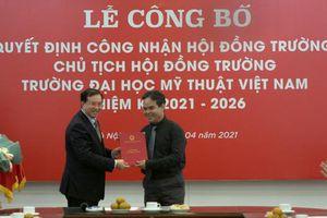 Công bố Quyết định công nhận Hội đồng trường Đại học Mỹ thuật Việt Nam nhiệm kỳ 2021 – 2026
