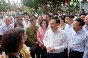 Chủ tịch Quốc hội Vương Đình Huệ ứng cử đại biểu Quốc hội khóa XV tại Hải Phòng