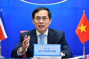 Bộ trưởng Ngoại giao Việt Nam-Costa Rica hội đàm nhân kỷ niệm 45 năm thiết lập quan hệ ngoại giao