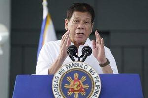 Tổng thống Philippines: Biển Đông là 'không thể mặc cả' dù Manila mang ơn 'người bạn tốt' Trung Quốc