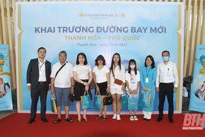 Khai trương đường bay Thanh Hóa - Phú Quốc