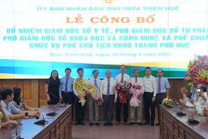 Thừa Thiên Huế bổ nhiệm lãnh đạo nhiều sở, ngành