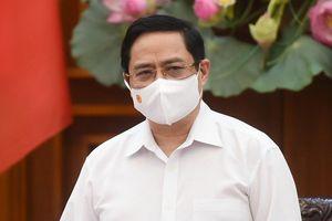 Thủ tướng Phạm Minh Chính: 'Xử nghiêm nơi lơ là, chủ quan chống dịch'