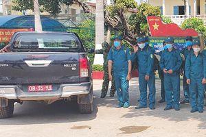 Kiên Giang tăng cường 100 quân cho tuyến đầu chống dịch