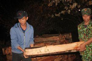 Tin mới vụ 100 lóng gỗ lậu dưới lòng hồ thủy điện