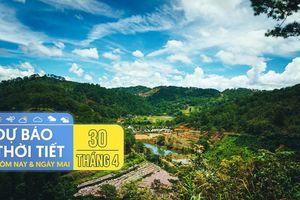 Dự báo thời tiết dịp lễ 30/4-1/5: Cả nước nắng đẹp, TP.HCM và Hà Nội có thể mưa dông chiều tối