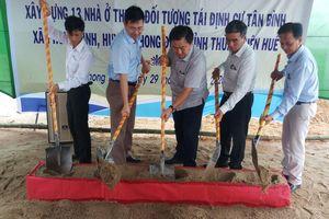 Thừa Thiên Huế xóa nhà tạm cho 13 hộ dân sống ở vùng nguy hiểm trên sông Ô Lâu