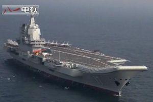 Trung Quốc đưa tàu sân bay đến Biển Đông, Việt Nam lên tiếng