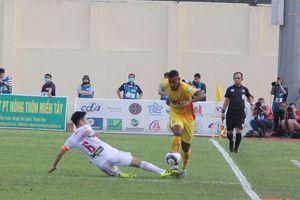 Trận Đông Á Thanh Hóa gặp Sông Lam Nghệ An ở vòng 12 LS V.League 2021 sẽ không có khán giả