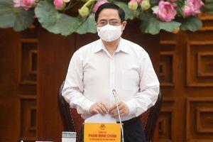 Thủ tướng Phạm Minh Chính: Mục tiêu cao nhất là bảo vệ an toàn sức khỏe cho cộng đồng