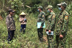 Biên phòng các tỉnh Tây Nguyên tăng cường chống dịch COVID-19