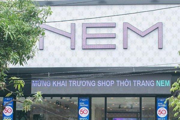 BIDV siết khoản nợ 500 tỷ đồng có liên quan đến thời trang NEM