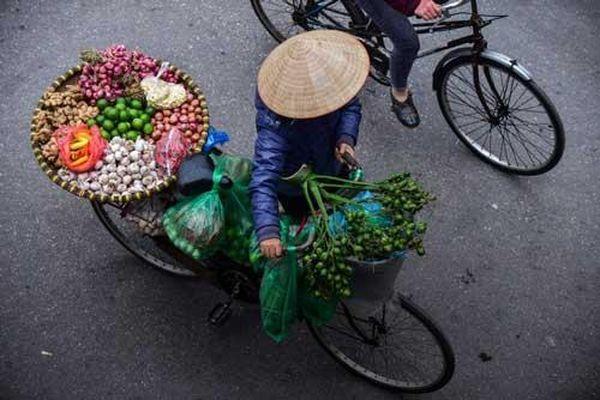 Gánh hàng rong – hồn quê giữa phố phường Hà Nội