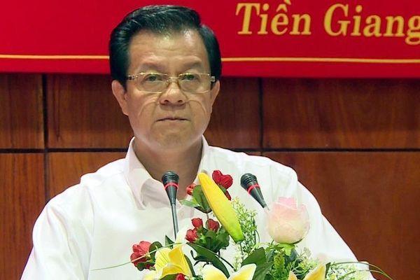 Phó chánh án TAND Tối cao Lê Hồng Quang làm Bí thư An Giang
