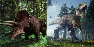Tìm thấy cặp đôi khủng long chết vì đánh nhau rồi hóa đá Ảnh 1