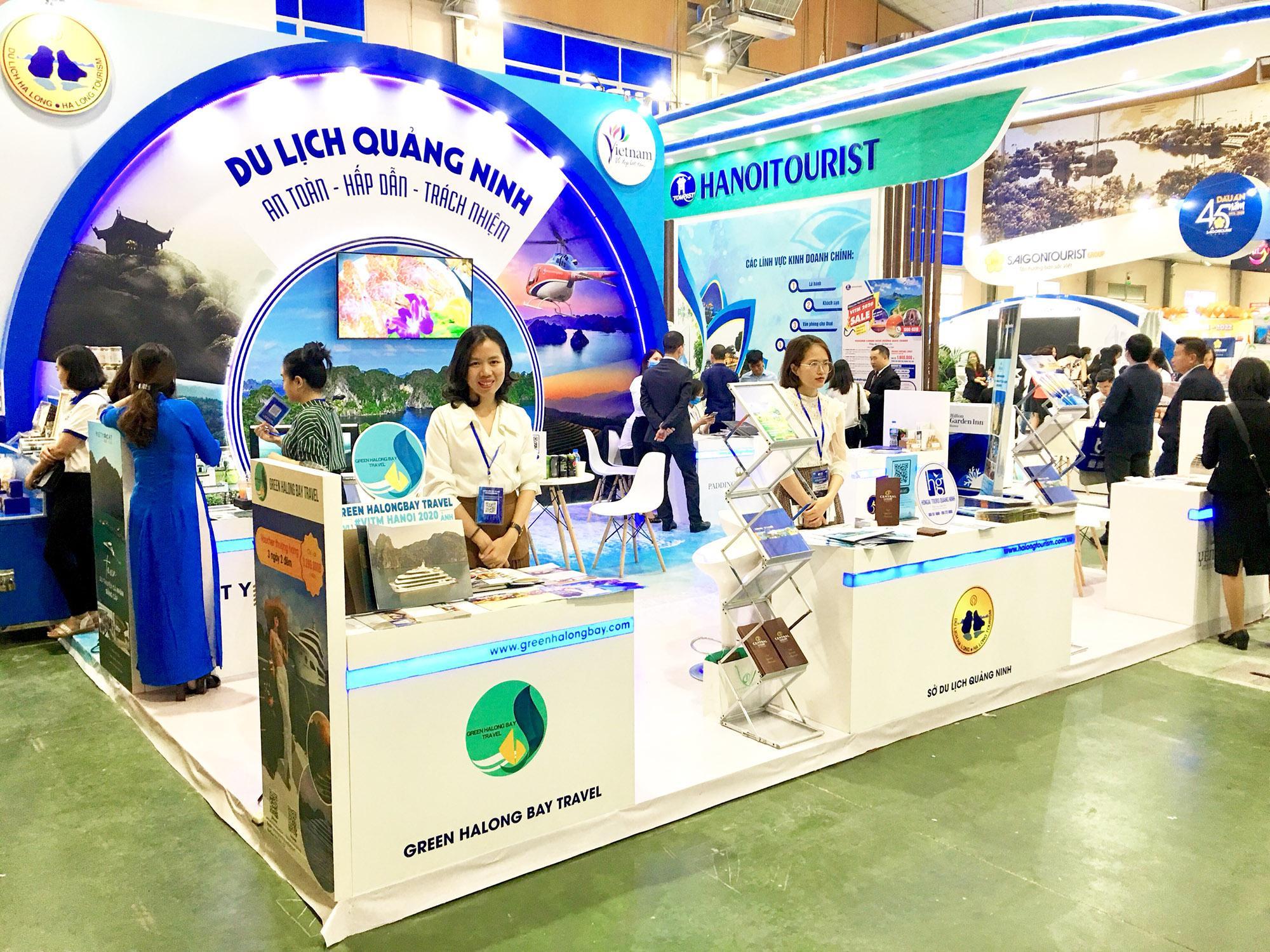 Quảng Ninh tham dự Hội chợ Quốc tế du lịch Việt Nam 2020 Ảnh 1