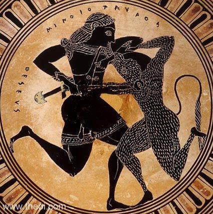 Truyền thuyết hãi hùng về quái thú Minotaur trong thần thoại Hy Lạp Ảnh 9