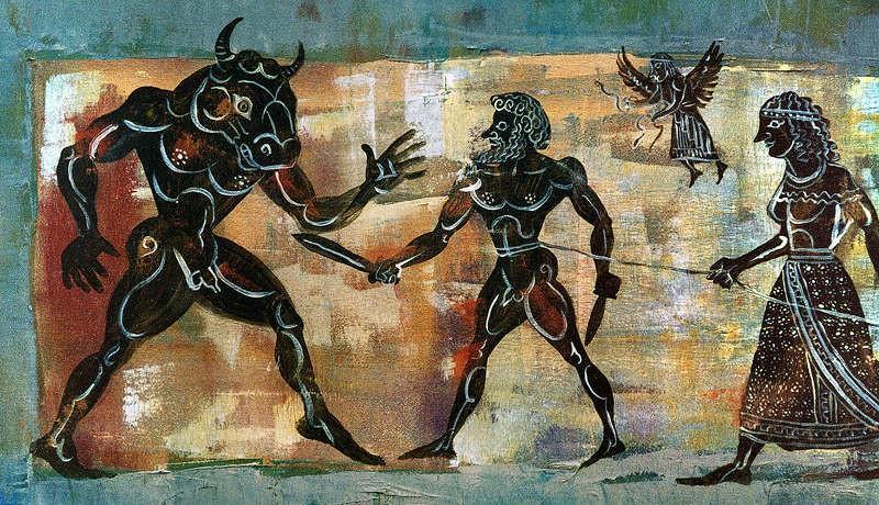Truyền thuyết hãi hùng về quái thú Minotaur trong thần thoại Hy Lạp Ảnh 6