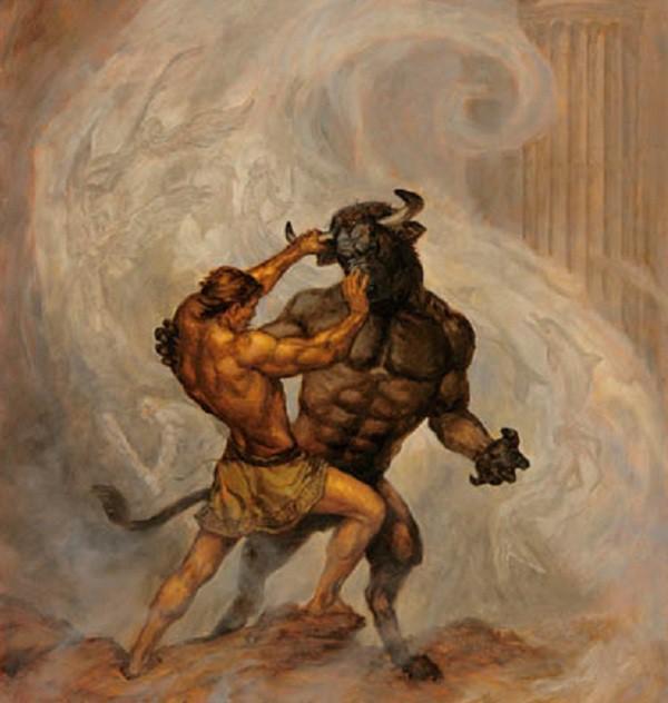 Truyền thuyết hãi hùng về quái thú Minotaur trong thần thoại Hy Lạp Ảnh 7