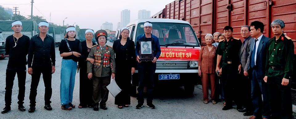 Đưa hài cốt liệt sỹ thất lạc 48 năm trở về quê hương Ảnh 1