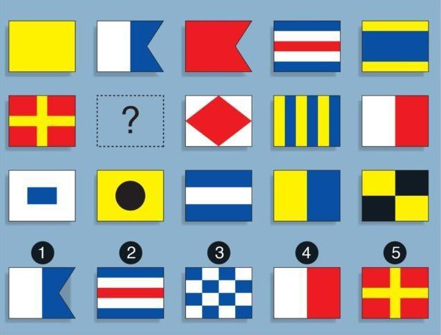 Thử tài suy luận với bài toán lá cờ Ảnh 1