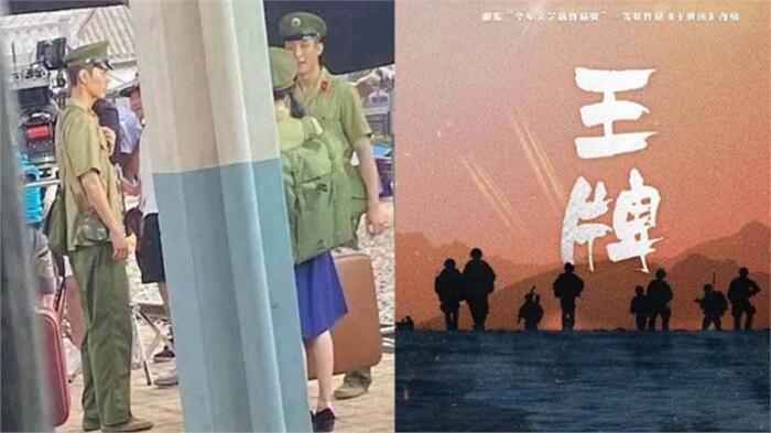 Nhân viên của ekip phim 'Vương bài' mắng fan cuồng, Tiêu Chiến thấy fan liền trốn đi mất? Ảnh 4