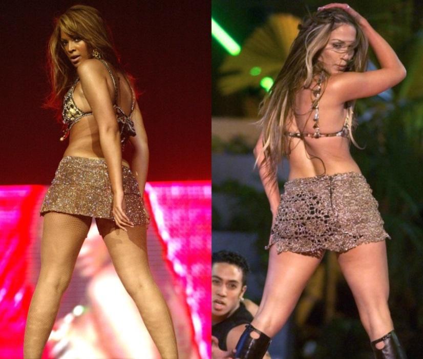 Jennifer Lopez nhiều lần mặc đồ giống Beyoncé Ảnh 4
