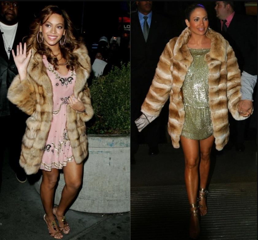 Jennifer Lopez nhiều lần mặc đồ giống Beyoncé Ảnh 6