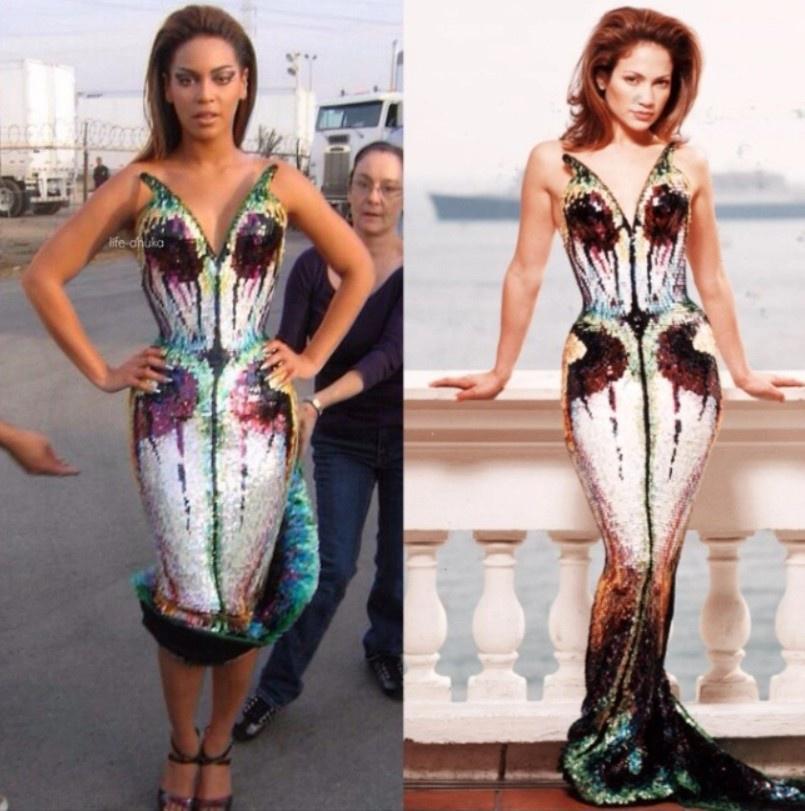 Jennifer Lopez nhiều lần mặc đồ giống Beyoncé Ảnh 5