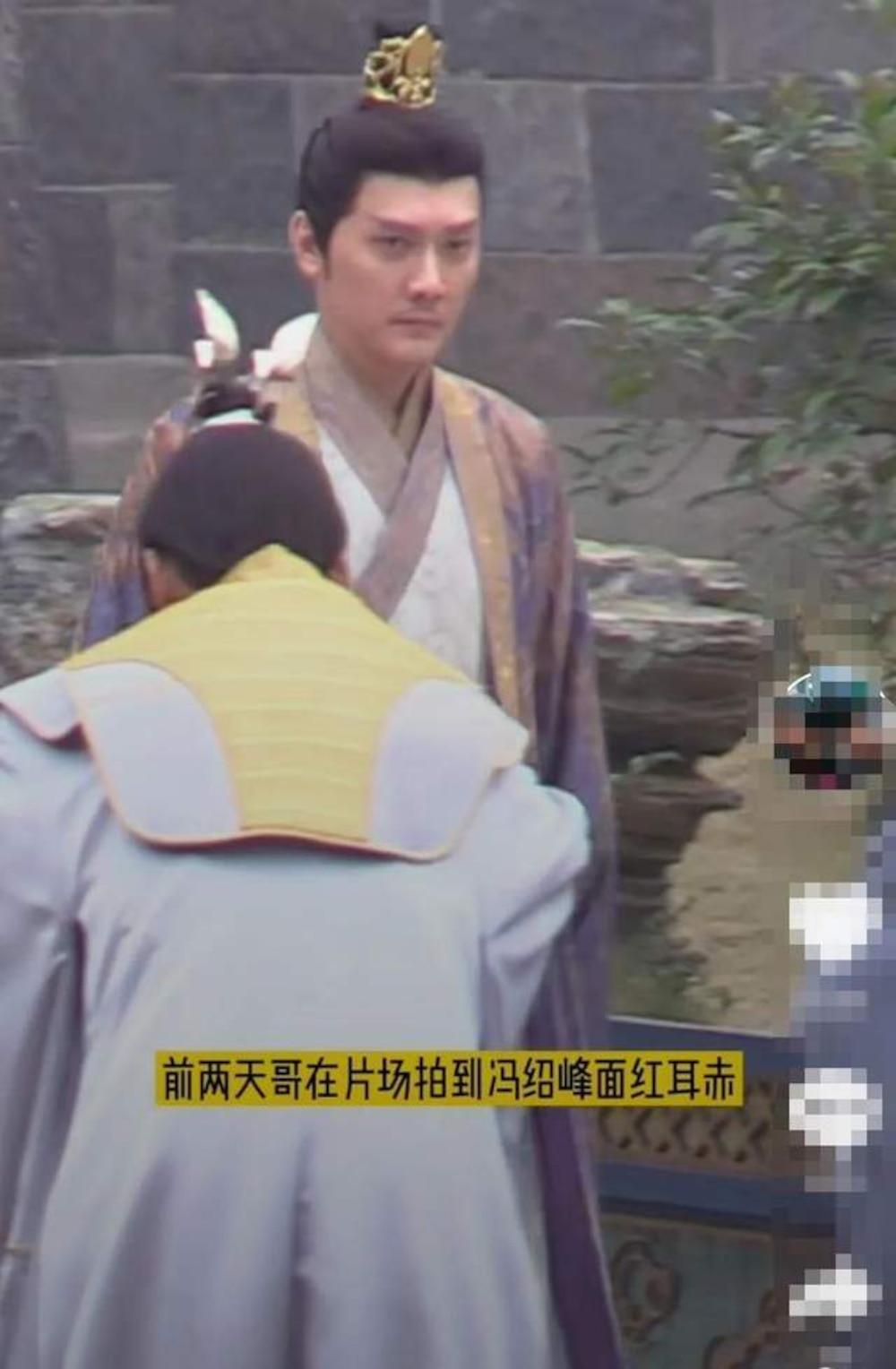 Kết hôn xong có nhiều thay đổi: Phùng Thiệu Phong trông như cha của nữ chính trong loạt ảnh hậu trường Ảnh 4