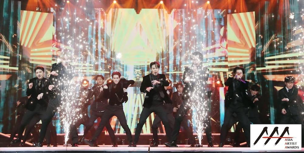 'AAA 2020': Sâu khấu bùng nổ của TWICE, Super Junior, Got7, NCT, ITZY và Kang Daniel Ảnh 39