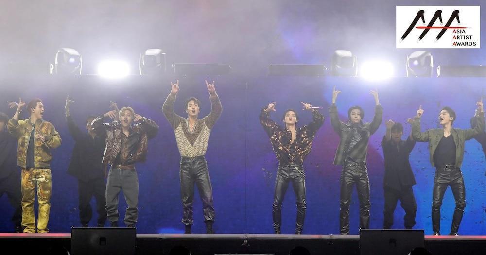 'AAA 2020': Sâu khấu bùng nổ của TWICE, Super Junior, Got7, NCT, ITZY và Kang Daniel Ảnh 40