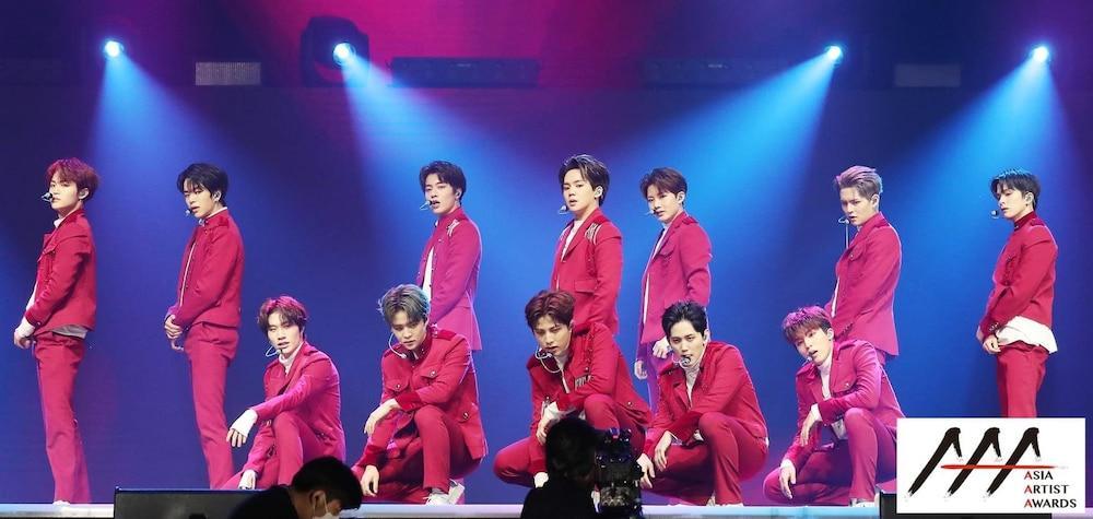 'AAA 2020': Sâu khấu bùng nổ của TWICE, Super Junior, Got7, NCT, ITZY và Kang Daniel Ảnh 64
