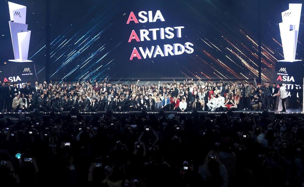'AAA 2020': Sâu khấu bùng nổ của TWICE, Super Junior, Got7, NCT, ITZY và Kang Daniel Ảnh 1